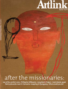 After the Missionaries issue of Artlink