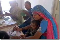 Women from Jharkhand learning to make circuits for solar panels with Barefoot College in Thilonia