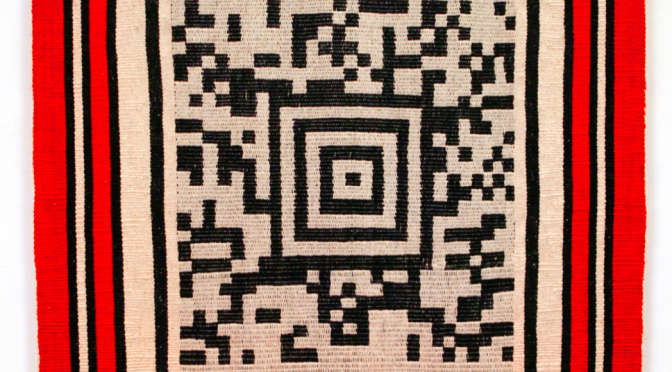 Mapuche stories woven into QR codes