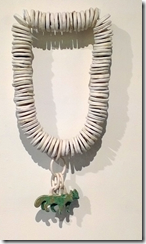 Mia Hamilton's ceramic wall jewellery