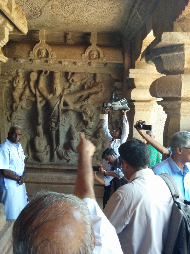 Beings of the 21st century salute the beings of the 9th century Pallava dynasty.